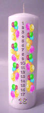 Personalized Birthday Candles Custom Candles Unlimited