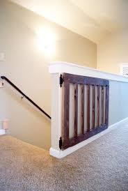 leitern fã r treppen die besten 25 gates for stairs ideen auf