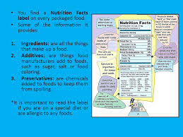 foods for good nutrition ms kathy castillo 6th a ppt download