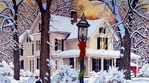 snowy christmas pictures a snowy christmas art id 64578 art abyss