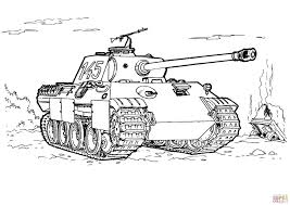 tank colouring pages funycoloring