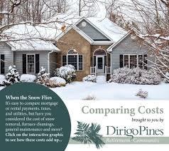 comparing costs preparing for winter dirigopines