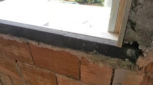 ponte termico davanzale bancali finestra posa con isolamento una casa da ristrutturare