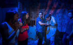 universal halloween horror nights reviews video get a chilling first look at vr experience u0027the repository