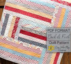 baby quilt pattern jelly roll quilt pattern back u0026 forth baby