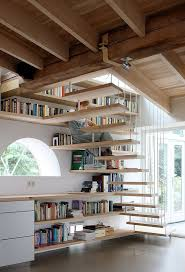 home design idea books 50 creative ways to incorporate book storage in around stairs