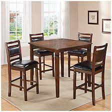 big lots kitchen furniture 5 wooden pub set with padded seats at big lots our