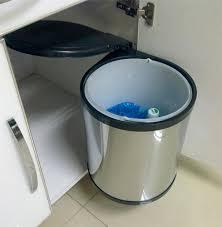 poubelle automatique cuisine poubelle cuisine tri selectif 2 bacs 10 grande 2672 poubelle de