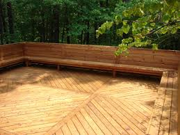 Build Deck Bench Seating Bench Deck Bench Seating How To Build A Timber Deck Bench Seat