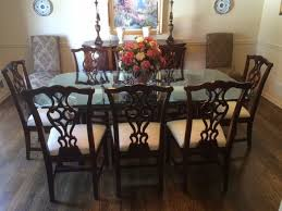 9 dining room sets thomasville traditional mahogany dining room set with 9 home devotee