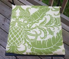 Diy Patio Cushions Loving Life No Sew Seat Cushions