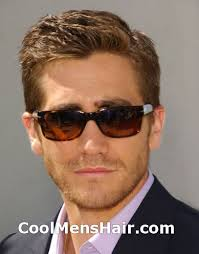 conservative mens haircuts men s hairstyles short on sides long on top jake gyllenhaal