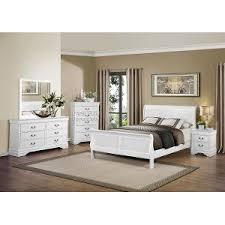 full white bedroom set mayville white 6 piece full bedroom set bedroom furniture