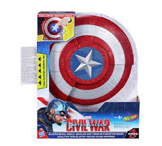 captain america shield light target buy marvel captain america civil war blaster reveal shield kids