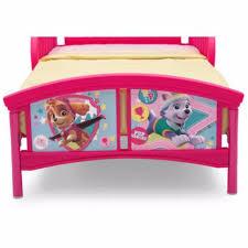 girls toddler bed paw patrol skye and everest bedroom