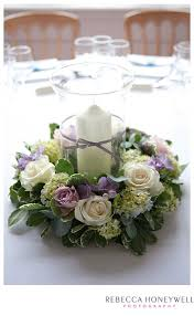 Candle Holders Decorated With Flowers 9 Best Candle Holder Centerpieces Images On Pinterest Flower