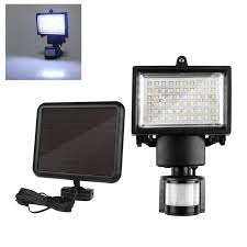 led solar security light 60 led solar motion light security l with 5 yard motion sensor