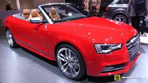 audi convertible interior 2016 audi s5 convertible exterior and interior walkaround 2015