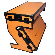 prox xs ztableob portable z style dj table flight case with