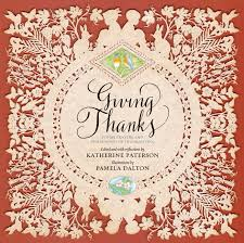 thanksgiving dinner blessing prayer giving thanks a giveaway two writing teachers