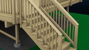 lowes banisters and railings exterior stair railings amazing fantastic wood outdoor stairs