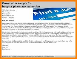 9 cover letter for pharmacy technician hostess resume
