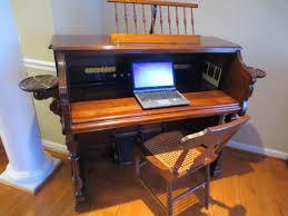 c 1892 mason u0026 hamlin co walnut organ desk old things anew