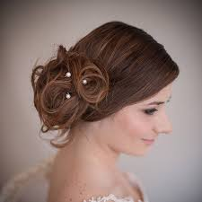 pearl hair pins set of pearl bridal hair pins by chez bec notonthehighstreet