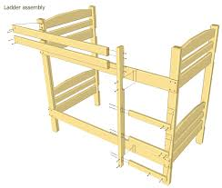Free Bunk Bed Plans Twin Over Double by Simple Bunk Bed Plans Plans Diy Free Download Teds Woodworking