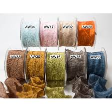 wired ribbon wholesale 2 inch solid crushed wired ribbon may arts wholesale ribbon