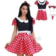 Minnie Mouse Womens Halloween Costume Unbranded Minnie Mouse Costumes Women Ebay