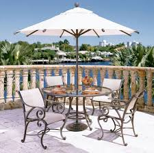 Patio Furniture Chair Glides Furniture Attractive Outdoor Woodard Patio Furniture With White