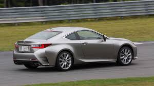 lexus is f sport coupe 2016 lexus rc 350 review stiff competition autoweek