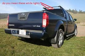 2001 dodge ram 1500 third brake light nissan frontier questions the white third brake lights on my 2008
