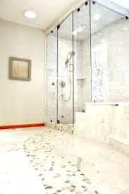 river rock bathroom ideas rock tile wall bathroom floor best river ideas on wood shower q