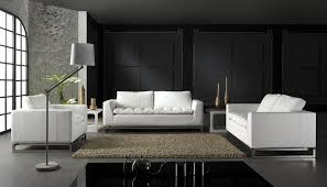 Leather Sofa Co by Top Modern Sofa Company With Modern Black Leather Circular