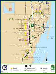Homestead Fl Map Florida U0027s Turnpike Maplets