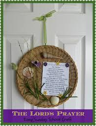 crafty in crosby the lord u0027s prayer easy sunday craft
