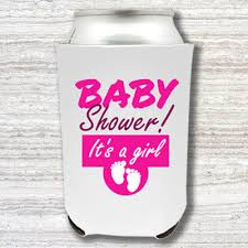 baby shower koozies custom koozies wedding koozies custom coolies imprint