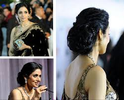 12 best hairstyles for party wear sarees indian beauty tips