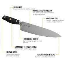 german steel kitchen knives professional german steel 8 inch chef knife sharppebble