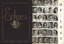 highschool year book 1944 new trier highschool yearbook rock hudson
