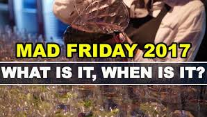 when is mad friday pubs and revellers left confused