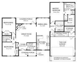 Ranch Basement Floor Plans 44 Best 1600 Square Foot Plans Images On Pinterest House Floor