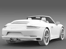 Porsche 911 Carrera - porsche 911 carrera s cabriolet 991 2016 3d model max obj 3ds fbx