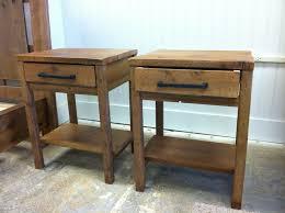 reclaimed wood end table custom made reclaimed wood end tables by sb designs custommade com