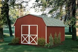 colonial dutch barn sheds