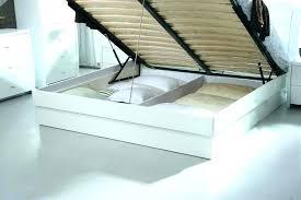 Platform Bed With Storage Underneath Platform Bed Storage Underneath Ghanko