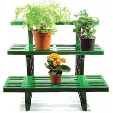 decoration green etagere potted plant display stand made from