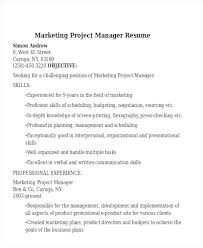 marketing skills resume october 2017 megakravmaga